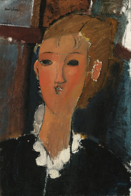 Art Prints of Young Woman with a Collar by Amedeo Modigliani