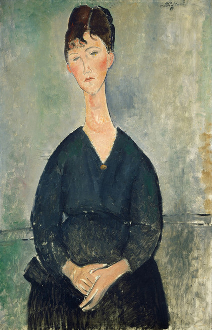 Art Prints of Cafe Singer by Amedeo Modigliani