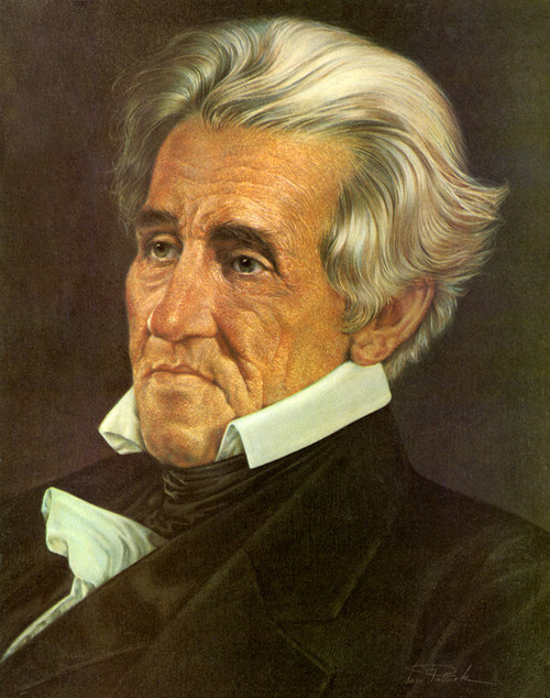 Art Prints of Andrew Jackson, Presidential Portraits