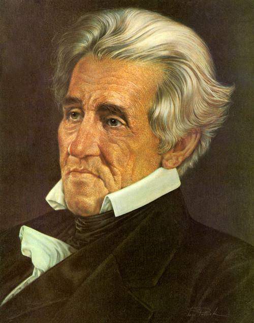 Art Prints of Andrew Jackson, Presidential Portraits