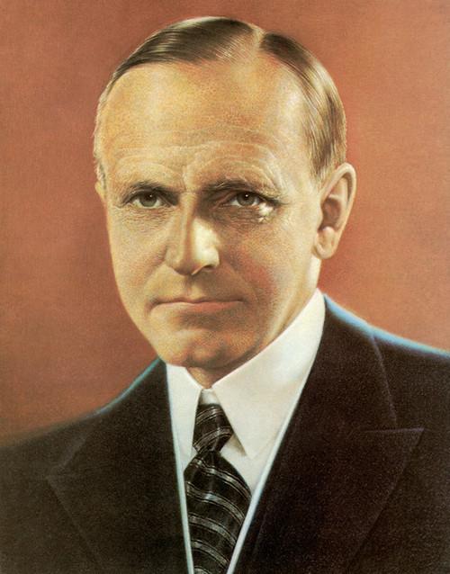 Art Prints of Calvin Coolidge, Presidential Portraits
