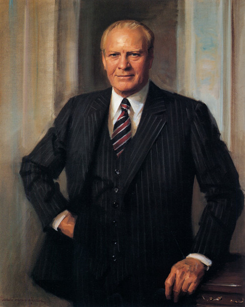 Art Prints of Gerald R. Ford, Presidential Portraits