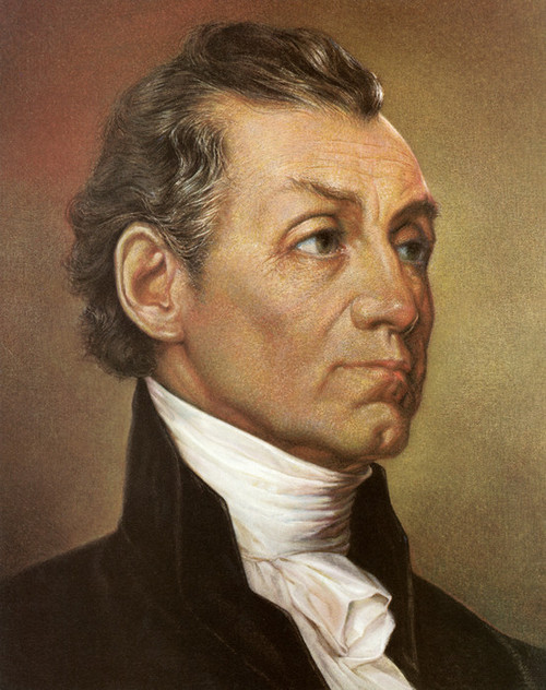 Art Prints of James Monroe, Presidential Portraits