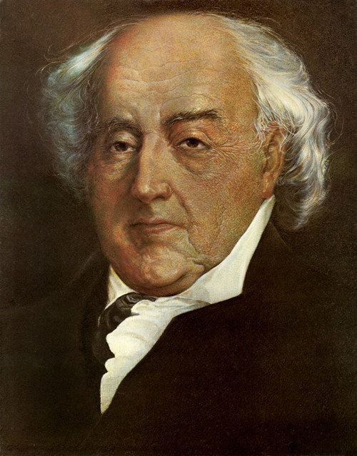 Art Prints of John Adams, Presidential Portraits