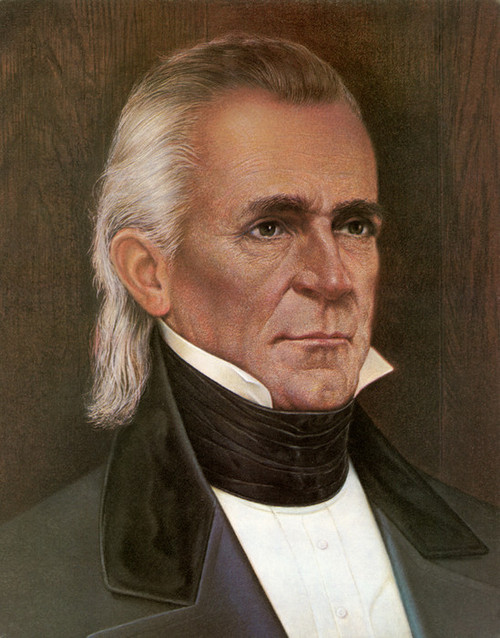 Art Prints of James Polk, Presidential Portraits
