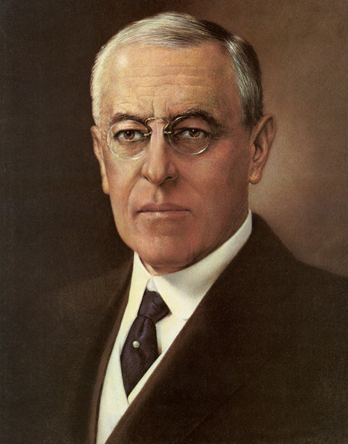 Art Prints of Woodrow Wilson, Presidential Portraits