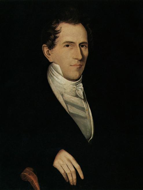 Art Prints of A Gentleman, 1825 by Ammi Phillips