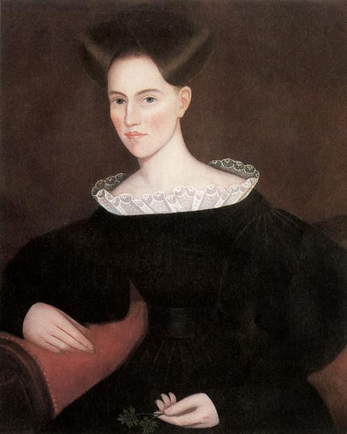Art Prints of Catherine M. Ten Broeck Dewitt by Ammi Phillips