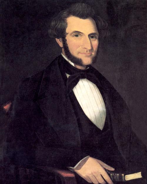 Art Prints of A Gentleman, 1850 by Ammi Phillips