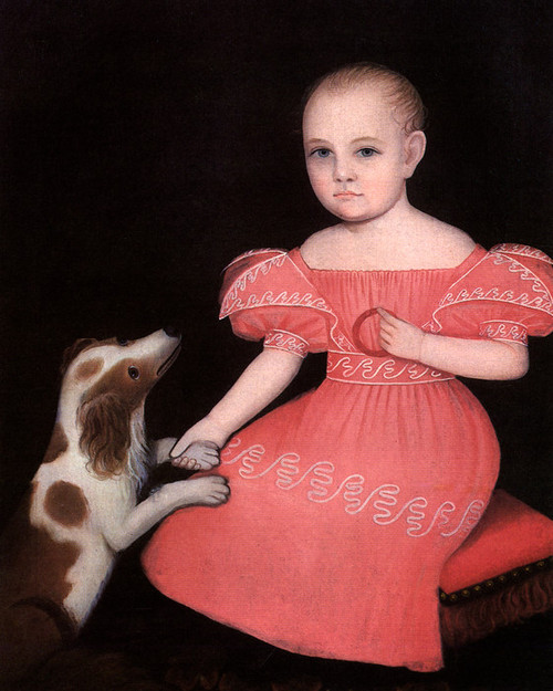 Art Prints of Child in Pink by Ammi Phillips