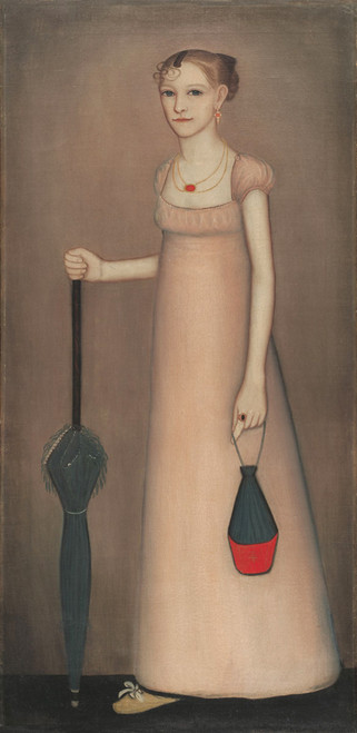 Art Prints of Harriet Leavens by Ammi Phillips