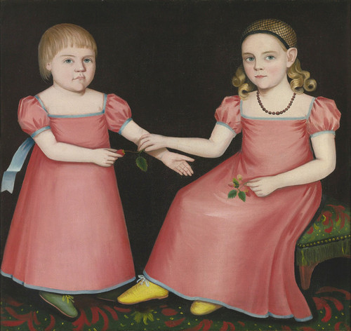 Art Prints of Mary Jane Sogg and her Brother Henry by Ammi Phillips