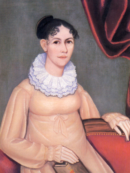 Art Prints of Portrait of Sarah Morgan Walbridge, 1820 by Ammi Phillips