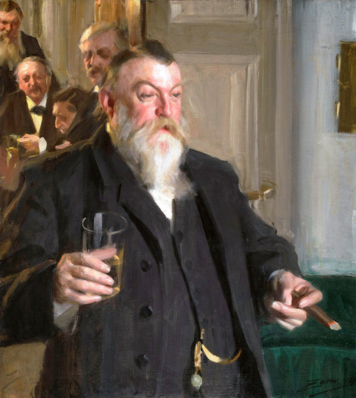 Art Prints of A Toast in the Idun Society by Anders Zorn