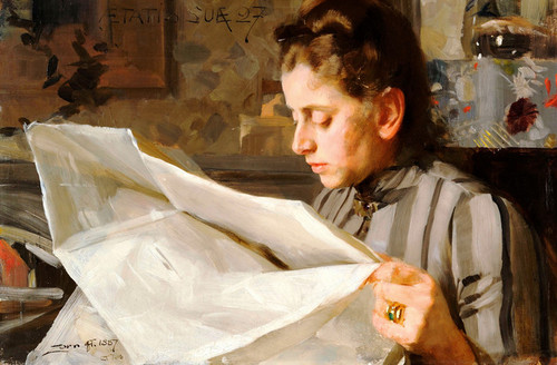 Art Prints of Emma Zorn Lasande by Anders Zorn