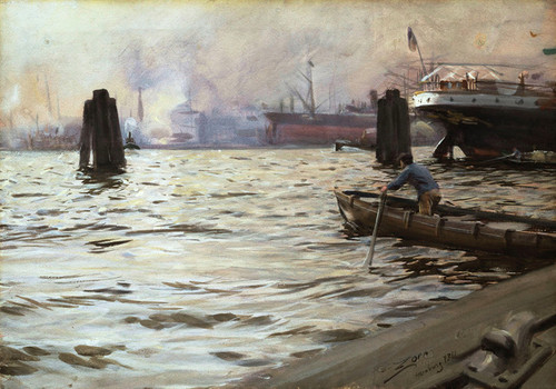 Art Prints of Hamburg by Anders Zorn