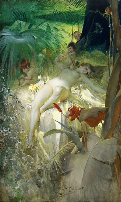 Art Prints of Love Nymph by Anders Zorn