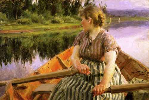 Art Prints of Midnight by Anders Zorn