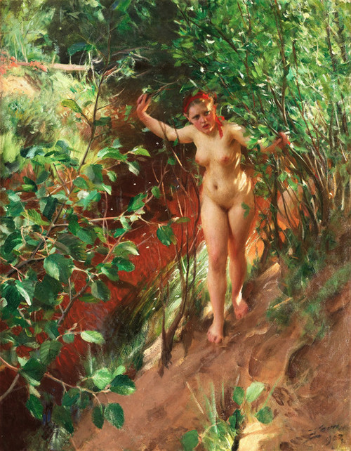 Art Prints of Red Sand by Anders Zorn