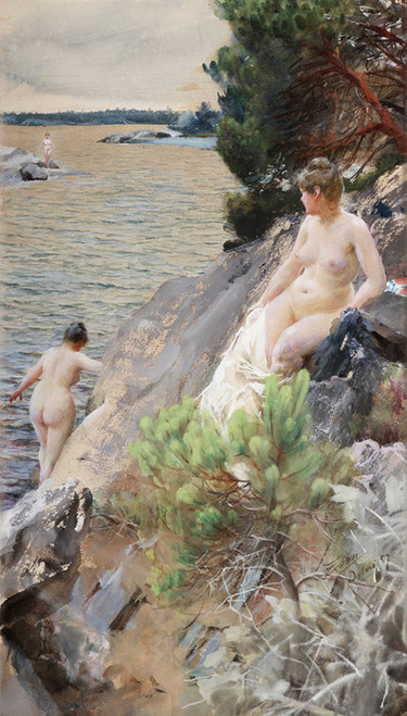Art Prints of Summer by Anders Zorn