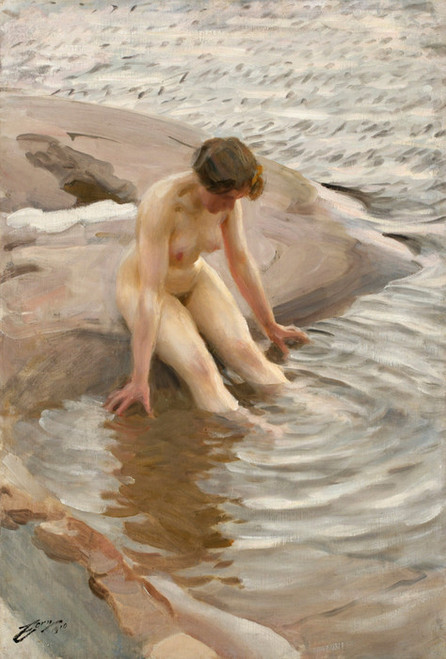 Art Prints of Wet by Anders Zorn