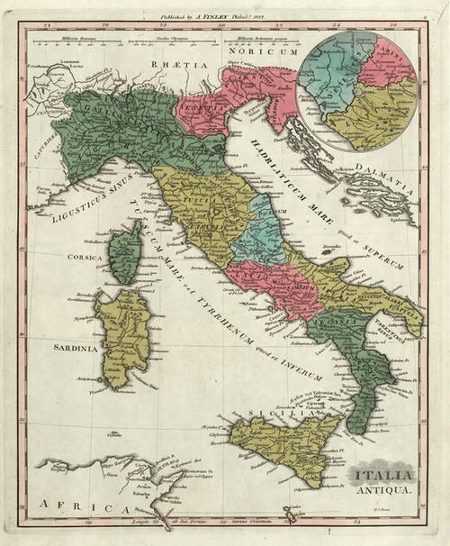 Art Prints of Italia Antiqua, 1831 (0285068) by Anthony Finley