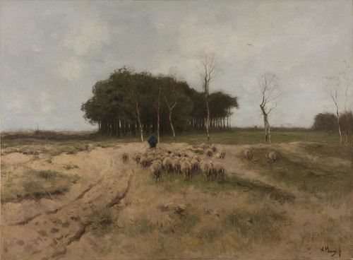 Art Prints of Heath near Laren by Anton Mauve