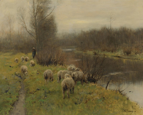 Art Prints of In the Pasture by Anton Mauve