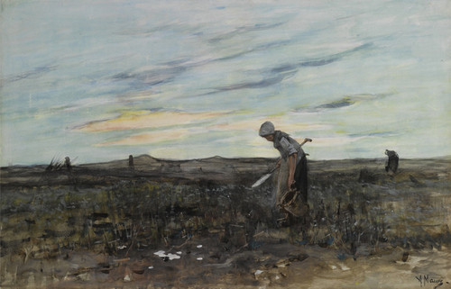 Art Prints of The Gleaners by Anton Mauve