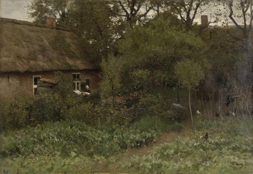 Art Prints of The Vegetable Garden by Anton Mauve