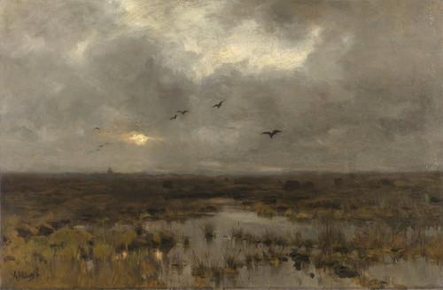 Art Prints of The Swamp by Anton Mauve