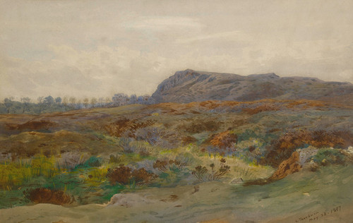 Art Prints of Moorland Landscape by Archibald Thorburn
