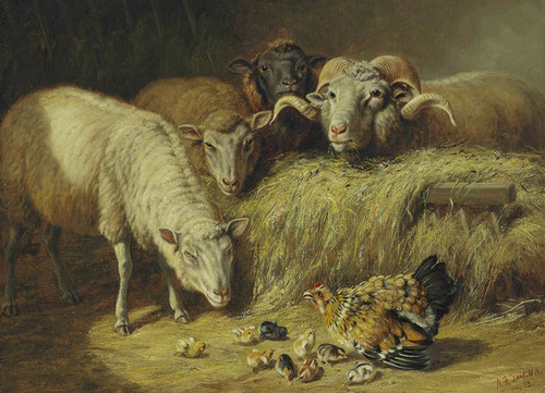 Art Prints of Maternal Solicitude by Arthur Fitzwilliam Tait
