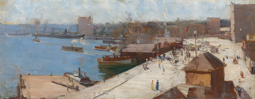 Art Prints of Circular Quay by Arthur Streeton