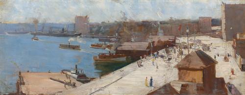Art Prints of Circular Quay by Arthur Streeton
