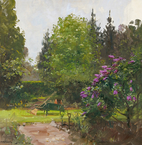 Art Prints of Garden Green by Arthur Streeton