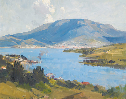 Art Prints of Hobart by Arthur Streeton