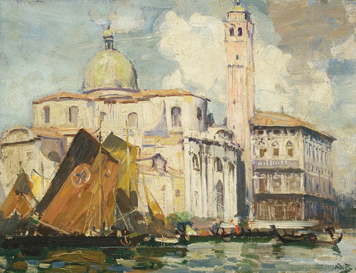 Art Prints of Grand Canal, Venice by Arthur Streeton
