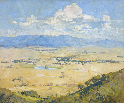 Art Prints of Melbas Country by Arthur Streeton