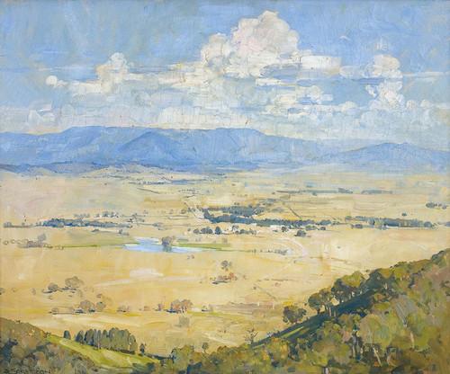 Art Prints of Melbas Country by Arthur Streeton
