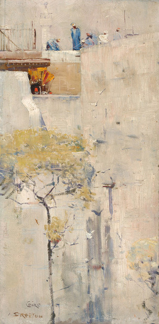 Art Prints of House Builders, Cairo by Arthur Streeton