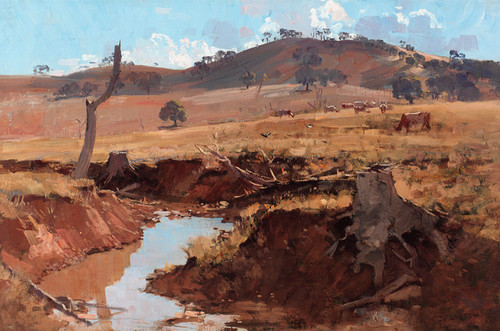 Art Prints of The Creek by Arthur Streeton