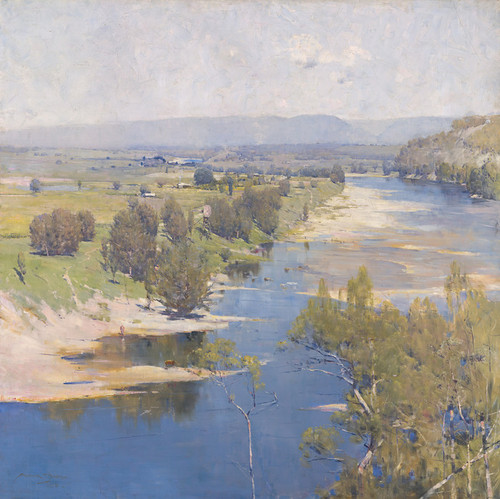 Art Prints of The Purple Noons Transparent Might by Arthur Streeton