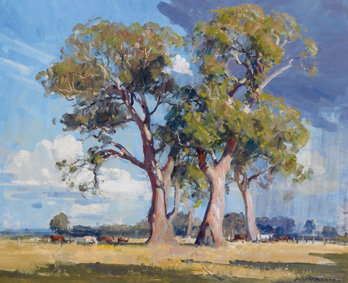 Art Prints of The Three Gums by Arthur Streeton