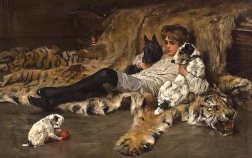 Art Prints of After the Ball by Arthur Wardle