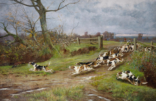 Art Prints of End of the Chase by Arthur Wardle