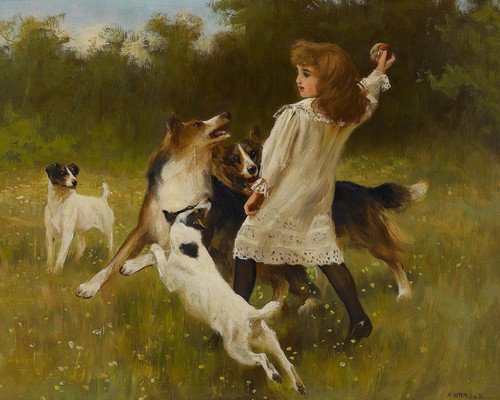 Art Prints of Fetch by Arthur Wardle