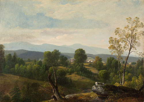 Art Prints of A View of the Valley by Asher Brown Durand