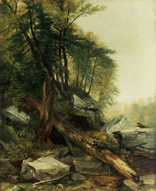 Art Prints of Kaaterskill Landscape by Asher Brown Durand
