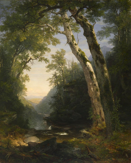 Art Prints of The Catskills by Asher Brown Durand